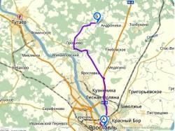 как доехать до коттеджного посёлка Романовская сторона