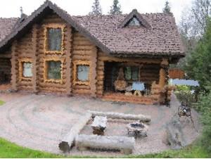 дом в деревне Зубарево