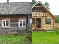 дом в селе Лацкое