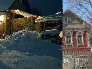 дом в селе Заячий-Холм