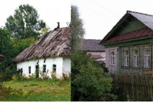 дом в деревне Володинская