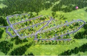купить земельный участок в коттеджном посёлке