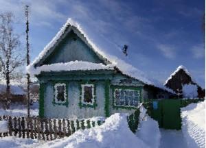 дом в селе Ильинская